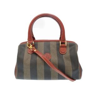 Fendi Pecan Shoulder 2way Handbag Vintage Accessory 0089