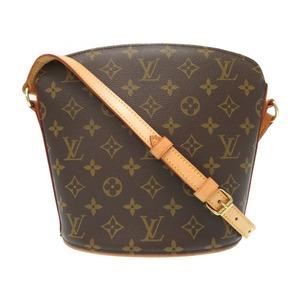 Louis Vuitton Monogram Droo M51290 Shoulder Bag Lv 0442