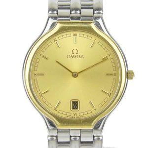 Omega Omega Devil Symbol Men's Quartz Wrist Watch