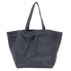 Celine Celine Cuban Phantom Leather Tote Bag Black
