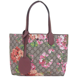 Gucci Gucci Gg Blooms Reversible Tote Bag Floral Pattern 372613