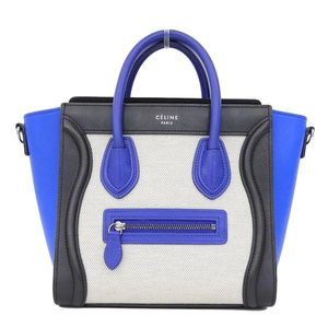 7c332304c00c3 Celine Canvas Handbag Multi-color