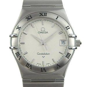 Omega Omega Constellation Men's Quartz Arm Watch Wrist Polished