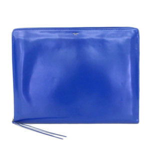 Celine Celine Coffee Clutch Bag Blue