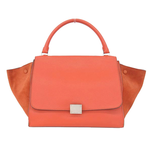 Celine Celine Drapez Hand Shoulder Bag Red Type