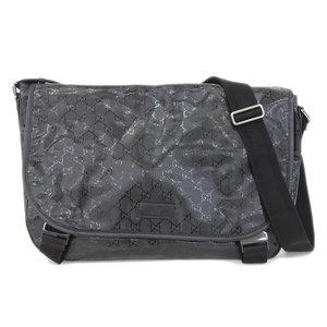 Gucci Gucci Gg Imprime Shoulder Bag Messenger Black 201725