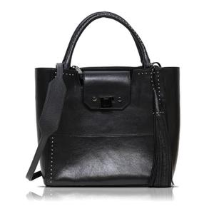 Jimmy Choo Robin Studs 2 Way Tote Bag Black × Silver