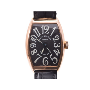 Used Frank Muller Casablanca 5850 Casa Pg / Automatic Leather Genuine Box Gala Men's Watch Franck ◇