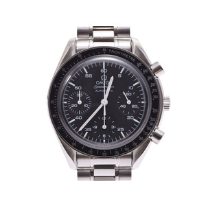 Second Hand Omega Speedmaster 3510.50 Ss Black Letter Automatic Watch Wrist ◇