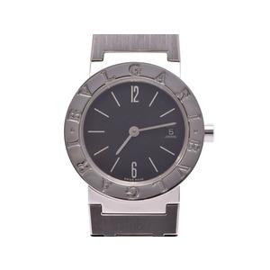 中古 ブルガリ ブルガリブルガリ26 BB26SS 黒文字盤 SS クオーツ 腕時計 レディース BVLGARI◇