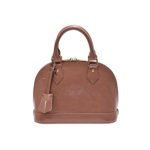 Used Louis Vuitton Vernis Alma Bb Roseveules M 91585 Ladies Bag With Strap ◇