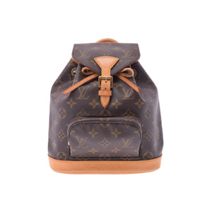 Used Louis Vuitton Monogram Mini Monthly M51137 Ladies' Backpack ◇