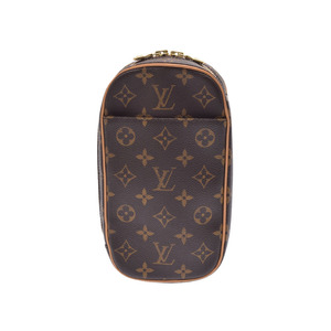 Used Louis Vuitton Monogram Pochette Ganju M51870 Body Bag Men's Women's ◇