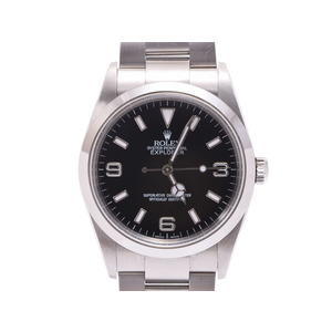 Used Rolex Explorer 1 Ex-1 114270 Y Number Ss Automatic Winding Box Gala Men's Wristwatch ◇