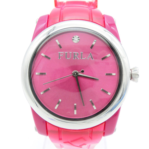 Furla Quartz Stainless Steel Women's Casual Watch 1P Rhinestone 6349L