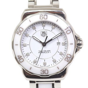 [Tag Heuer] Tag Heuer Ladies Watch Formula 1 Lady Wah 1315.ba 0868 White 12 P Diamond Dial