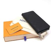 reputable site fa8ba 3ee3e Louis Vuitton Damier Anfini Zippy Wallet · Vertical N63548 Onyx (Black)  Unused Item | eLady.com