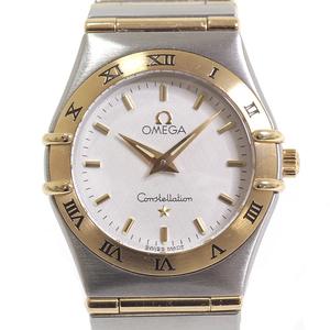 [Omega] Omega Ladies Watch Constellation Mini 1362.70 White Dial Ss × Yg