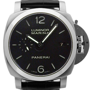 Panerai Panelai Luminor Marina 3 Days Pam 00392 Men's S Number Automatic Black Case Board