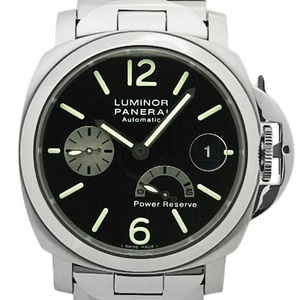Panerai Panelai Luminor Marina Power Reserve Pam00125 Men's F No. 40 Mm Automatic Black Case