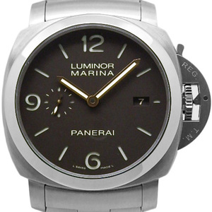 Unused Item! Panerai Luminol 1950 3 Days Pam 00352 Men's S Number Automa Brown Dial