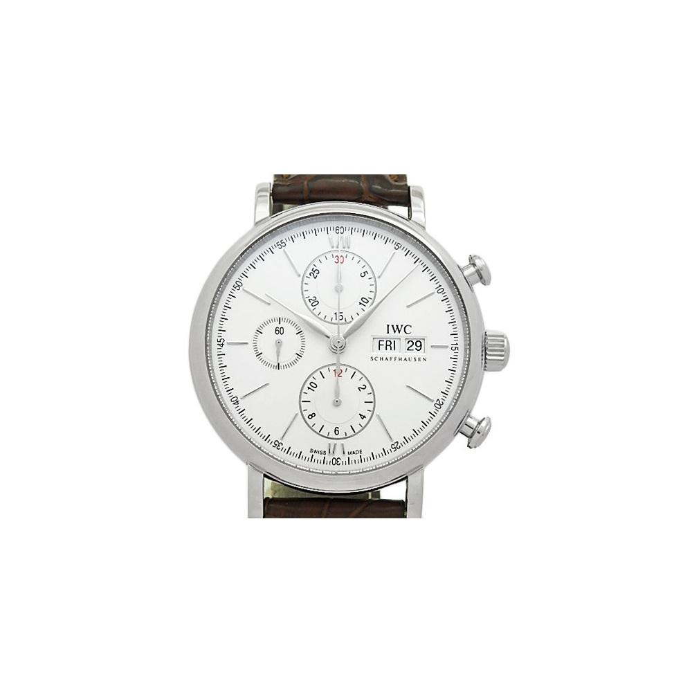 best service 44c65 15069 Iwc Port Finino Portofino Chronograph Iw391007 Men's ...