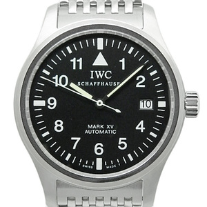Iwc Pilot Watch Mark Xv 15 Iw 325302 Mens Automa Black Character Board