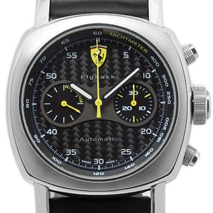 Panerai Ferrari Scuderia Chronograph Fer00014 Men's Automatic Backscale Carbon / Black Type Board