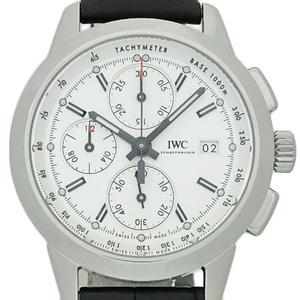 Iwc Inneria Chronograph W125 Iw 380701 3807 750 Limited Ti Men's Automa Silver Plating Dial