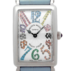 Frank Muller Long Island Magic Color 902qzmagiccolor Ladies' Quartz Silver Dial