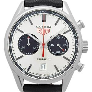 Tag Heuer Carrera Chronograph Cv211e.fc6310 Caliber 17 Men's Automatic Silver Dial Plate