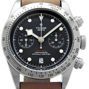 Unused Items Tudor Black Bay Heritage Ref. 79350 Chronometer Chronograph Automatic Mens Character Board