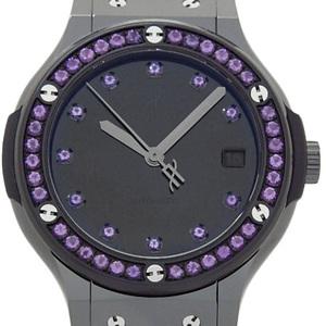 Beauty Item Hublot Classic Fusion Amethyst Ti 565 - Cx 1210 Vr 1205 Purple Automatic Unisex Reverse Side Black Character Board