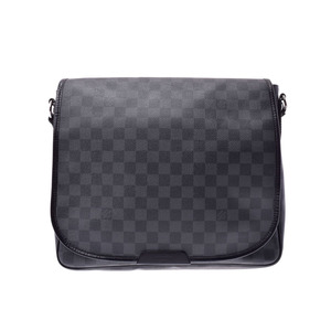 Used Louis Vuitton Grafit Daniel Mm N41272 Men's Shoulder Bag ◇