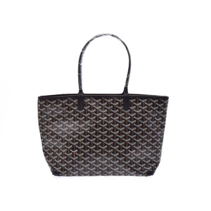 New Item Goyard Artwa Pm Pvc Leather Black / Bag ◇