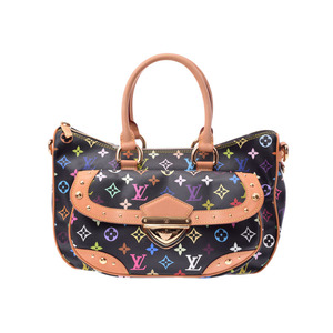 Used Louis Vuitton Multi Color Rita Black M40126 Ladies' Bag ◇