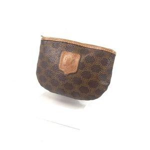 Celine Coin Purses Women's Macadam Brown Brand Accessories