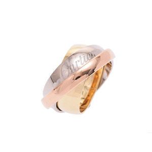 Used Cartier Must Essence Ring Three Color 21.6 G