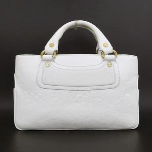 7908117951 Celine Boogie Women s Leather Handbag White