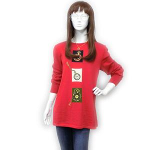 Roberta Di Camerino Women's Casual Sweater Red