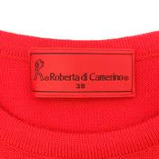 ロベルタ・ディ・カメリーノ(Roberta di Camerino) レディース カジュアル セーター (レッド)