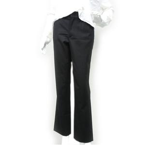 Gucci Women's Black Slim-fit Straight Pants