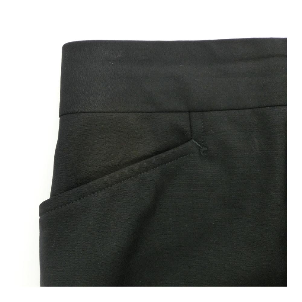 グッチ(Gucci) レディース ブラック スリムフィット ストレートパンツ