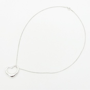 ティファニー(Tiffany) オープン・ハート シルバー925 レディース カジュアル ペンダント (シルバー) ペンダントトップ:27mm