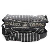 シャネル(Chanel) スポーツ A32807 ユニセックス ナイロン ショルダーバッグ ブラック