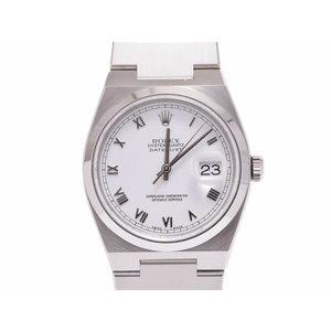 中古 ロレックス オイスタークォーツ 17000A A番 SS 白文字盤 日ロレ修理済 クオーツ メンズ 腕時計 ROLEX◇