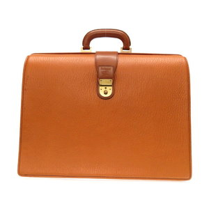 Burberry Burberry's Leather Doctor's Bag Briefcase Business Brown Mens 0160 Burbry