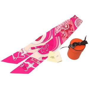 Hermes Twill Scarf As Well Brand New Festival Of Amazoness Silk 100% Fuchsakyrose 0224 Hmes