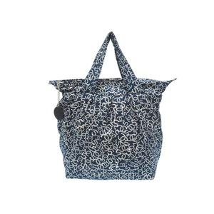 Chanel 5 Coco Mark Canvas Tote Bag Navy 0025