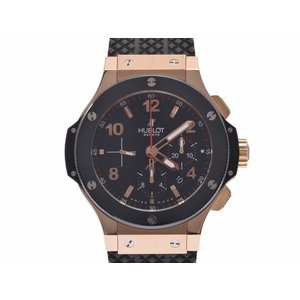 Used Hublot Big Bang 301.pb.131.rx Pg / Rubber Automatic Carbon Dial Back Schedule Men's Watch ◇